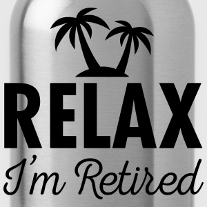Relax - I'm Retired T-shirts - Drikkeflaske