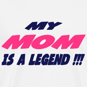 My mom is a legend Body neonato - Maglietta Premium da uomo