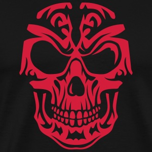Skull Tribal head death 15096 Hoodies & Sweatshirts - Men's Premium T-Shirt
