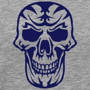 Skull Tribal head death 15093 Sports wear - Men's Premium T-Shirt