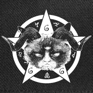 Grumpy Occult Cat Tee shirts - Casquette snapback