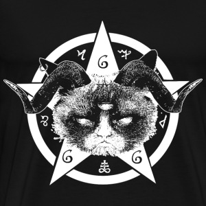 Grumpy Occult Cat Sweat-shirts - T-shirt Premium Homme