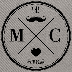 The Movember Moustache Club with pride T-shirts - Snapback Cap