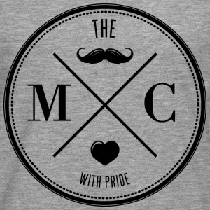 The Movember Moustache Club with pride DD Sweat-shirts - T-shirt manches longues Premium Homme