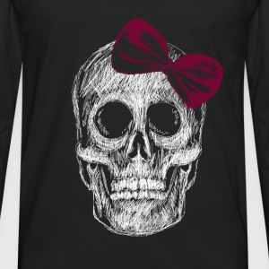 Tee Shirt Girly Skull - T-shirt manches longues Premium Homme