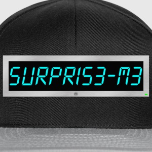 Subliminal msg - Surprise me Hoodies & Sweatshirts - Snapback Cap