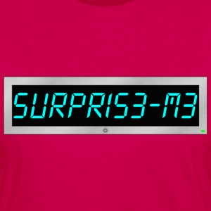 Subliminal msg - Surprise me T-Shirts - Women's Premium Longsleeve Shirt