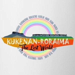 Roraima and Kukenan, The Lost World - Taza en dos colores
