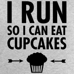 I Run So I Can Eat Cupcakes T-skjorter - Sweatshirts for menn fra Stanley & Stella