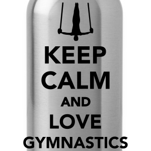 Keep calm and love gymnastics T-Shirts - Trinkflasche