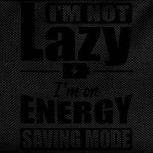 I'm not lazy. I'm on energy saving mode Shirts - Rugzak voor kinderen