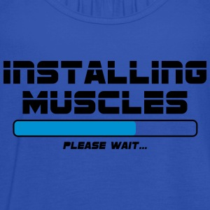 Installing Muscles - Women's Tank Top by Bella