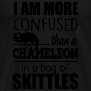 I'm confused like an cameleon in a bag of skittles Tops - Men's Premium T-Shirt