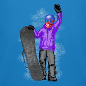 snowboarder Hoodies & Sweatshirts - Men's Organic T-shirt