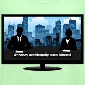 TV news - Attorney T-Shirts - Women's Tank Top by Bella