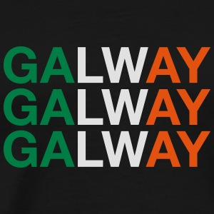 GALWAY Hoodies & Sweatshirts - Men's Premium T-Shirt
