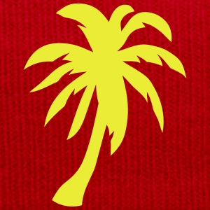 Palm trees 1409 T-Shirts - Winter Hat