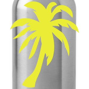 Palm trees 1409 T-Shirts - Water Bottle