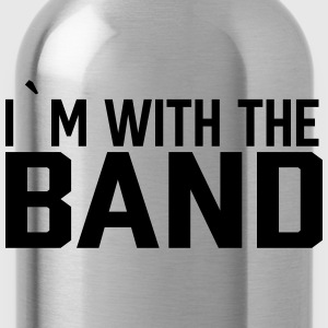 I`m With The Band T-Shirts - Trinkflasche