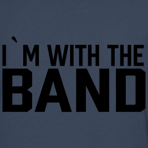 I`m with the band - Premium langermet T-skjorte for menn
