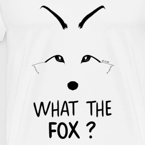 Débardeur What the fox ? - T-shirt Premium Homme