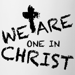 We Are One In Christ Sportbekleidung - Tasse