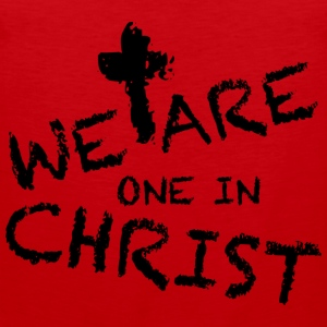 We Are One In Christ Langarmshirts - Männer Premium Tank Top