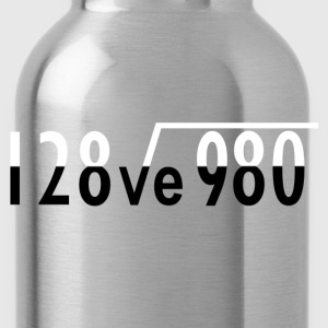 Maths I Love You - Water Bottle