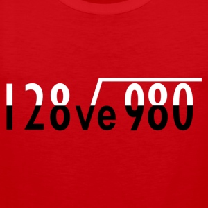 Maths I Love You - Men's Premium Tank Top