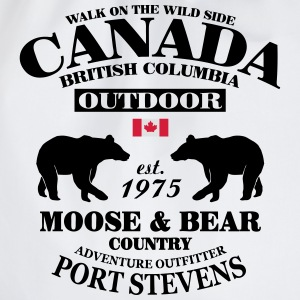 Bear - Canada T-Shirts - Turnbeutel