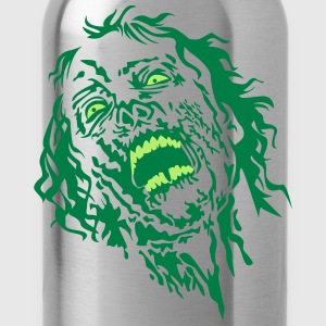 zombie face 2 T-Shirts - Trinkflasche