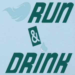 Run and drink Babybody - Økologisk T-skjorte for barn