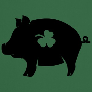 little pig with shamrock Hoodies - Cooking Apron