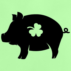 little pig with shamrock Hoodies - Baby T-Shirt