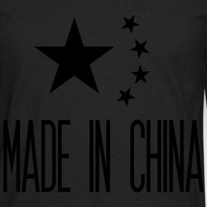 Made in China T-shirts - Mannen Premium shirt met lange mouwen