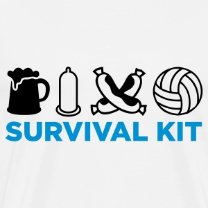 Survival Kit voor mannen Baby body - Mannen Premium T-shirt