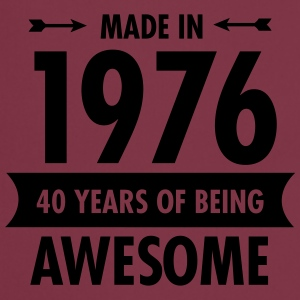 Made in 1976 - 40 Years Of Being Awesome T-shirts - Forklæde