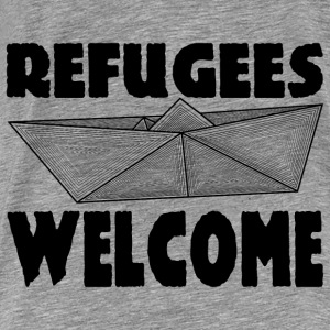 REFUGEES WELCOME! Sweat-shirts - T-shirt Premium Homme