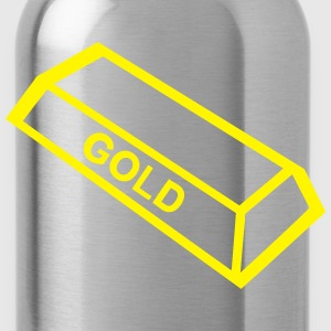 ingot gold_1109 Tops - Water Bottle