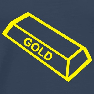 ingot gold_1109 Tops - Men's Premium T-Shirt