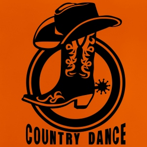 cowboys country dance botte chapeau 3 Tee shirts - T-shirt Bébé