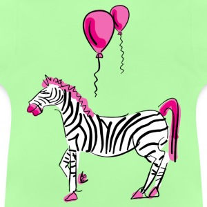 Dream On Little Zebra - Baby T-Shirt