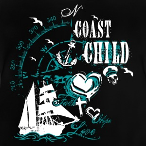 coast_child_10201502 T-Shirts - Baby T-Shirt