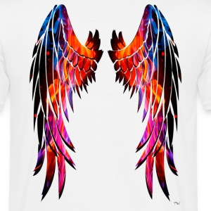 Colours wings - Camiseta hombre