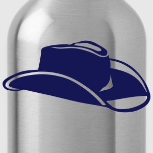 Hat cowboy western 7092 T-Shirts - Water Bottle