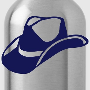 Hat cowboy western 709 Long sleeve shirts - Water Bottle
