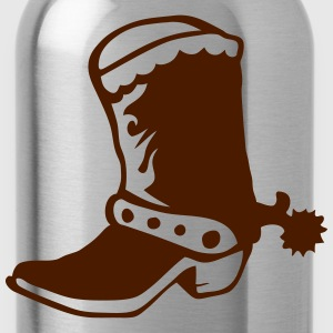 Boot cowboy western 1 Tops - Water Bottle