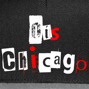 Ois Chicago Weiß / Rot Tops - Snapback Cap