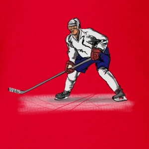 Hockey T-Shirts - Baby Bio-Kurzarm-Body