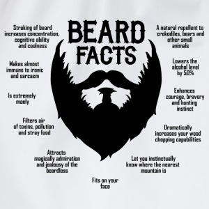 Beard Facts (black) Pullover & Hoodies - Turnbeutel